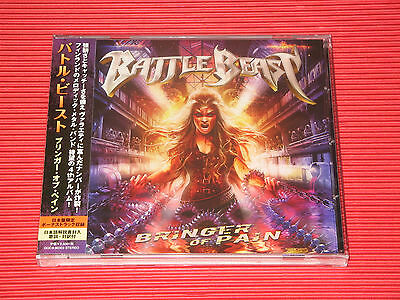 2017 BATTLE BEAST Bringer Of Pain with Bonus Track (Total 14tracks)  JAPAN CD