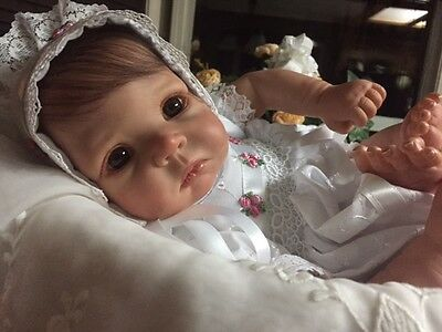 Reborn Daphne, by Elly Knoops~Adorable BABY!~With Front & Back Plate~~