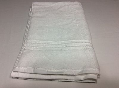 """HOTEL COLLECTION White 100% Turkish Cotton HAND TOWEL 20"""" x 30"""""""