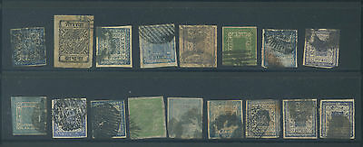 Nepal, group of postally used classic stamps