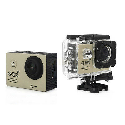 "1080P Full HD Wifi Sports Action Camera 170 Degree With 2.0"" LCD Screen SJ7000"