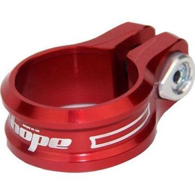 Hope Single Bolt Seat Post Clamp Red, 31.8mm