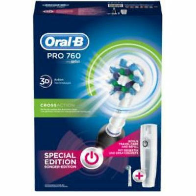 Oral-B Pro 760 3D Action Braun Tecnologie Special Edition+4 Spazzolini Ricambi