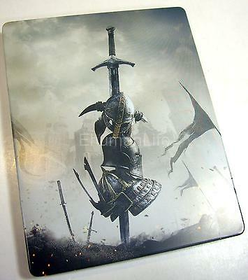 NEW Playstation PS4 For Honor Limited Steelbook Metal Case (NO GAME)