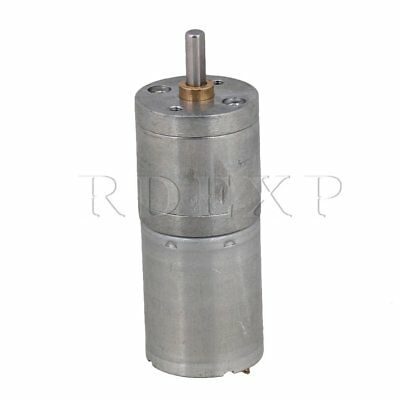 70RPM DC12V Low Noise Metal Mini 25GA370 Electric Reduce Speed Motor