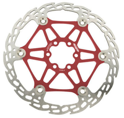Hope Mono 6 Saw Floating Disc Rotor Red, 183mm