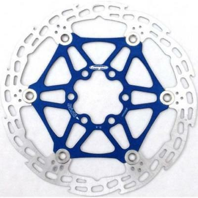 Hope Mono 6 Saw Floating Disc Rotor Blue, 160mm