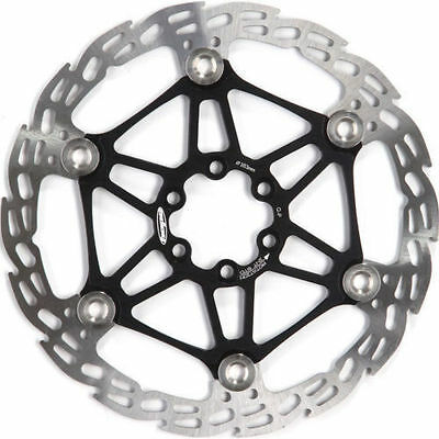 Hope Mono 6 Saw Floating Disc Rotor Black, 183mm