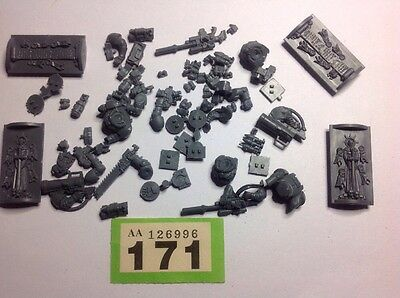 Warhammer 40K Space Marines Bits, Vehicle + Squad Parts, Spares Lot. #171