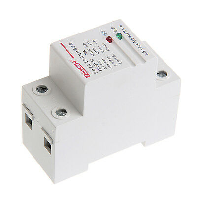 40A 220V Automatic Recovery Reconnect Over Under Voltage Protection Relay New