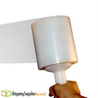 NEW 12 Rolls Stretch Wrap Plastic Banding Hand Film 5 Inch x 1000 Feet