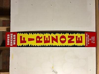 Firezone Oil Sign