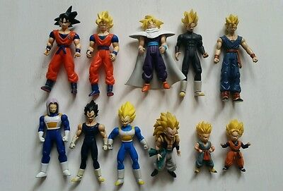 Irwin Dragon Ball Z figure lot DBZ Goku Gohan Vegeta Trunks Goten Gotenks