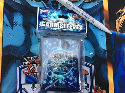 Yugioh World Championship 2014 Sleeves