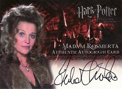 Harry Potter Prisoner of Azkaban Julie Christie as Madam Rosmerta Auto Card