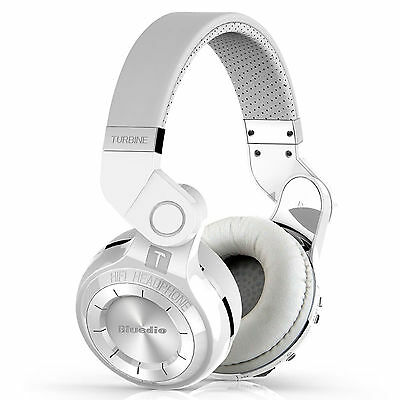 Bluedio T2 Bluetooth Stereo Wireless Headphones Bluetooth V4.1 Headsets White