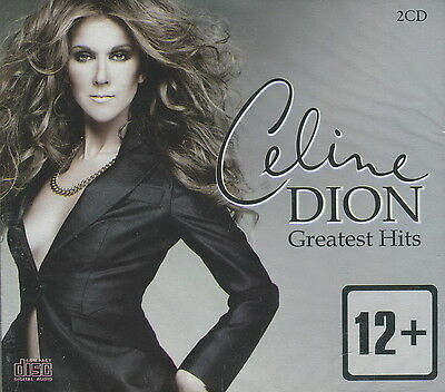 CELINE DION / Greatest Hits   SEALED 2CD. DIGIPAK