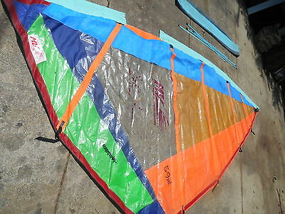 5.9 Meter Wind Surfing Sail  Made By Mv - Sail Maker