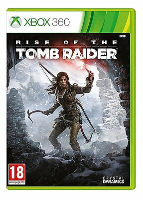 Rise of the Tomb Raider Microsoft Xbox 360 NEW NOT SEALED.