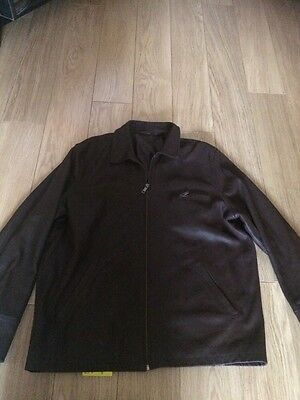 Mens Brown Leather Xl By Blue Harbour M&s