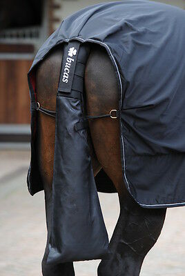 SALE! Bucas Horse Tail Protector/Bag - Padded Wrap - Black