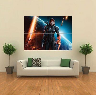 Mass Effect 3 Xbox Art Print Poster Picture Giant Huge G931