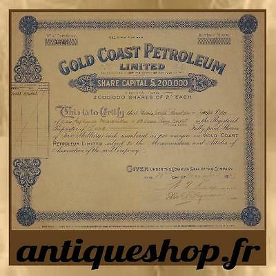 Gold Coast Petroleum Limited
