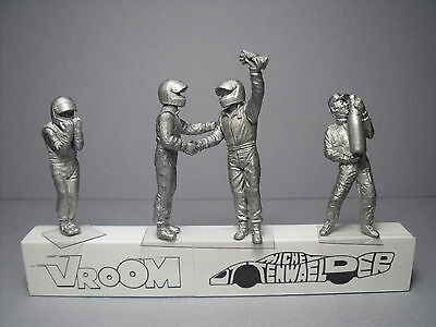4  Figurines 1/43  Set 307  F1  Drivers  Pilotes  Le  Triomphe  Vroom