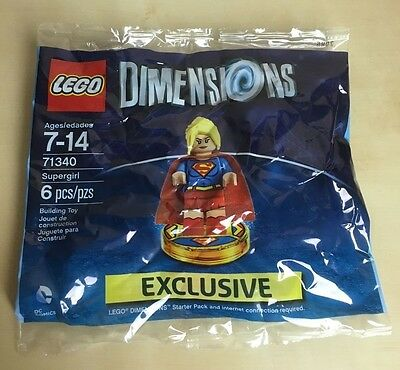 Lego Dimensions - Supergirl - 71340 Brand New Sealed Pack