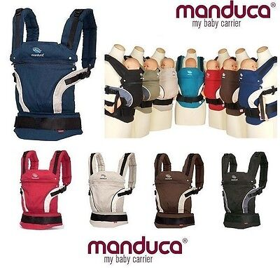 Sale New Manduca BABY CARRIER Blue FRONT BACK HIP Newborn Infant Toddler Child