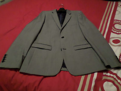 Mans Suit Jacket From Topman Uk 40 Excellent Condition