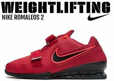 NIKE Romaleos 2 Weightlifting Powerlifting Shoes Gewichtheben Schuhe Rosa