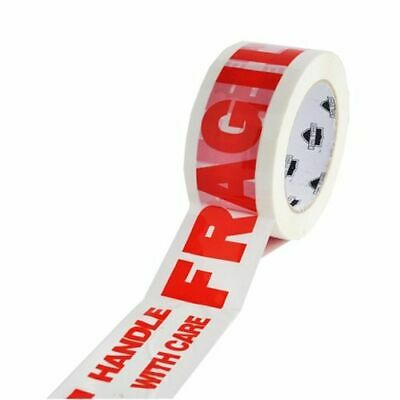 """36 Rolls Fragile Marking Tape Handle w/Care Shipping Packing 2 Mil 2"""" x 110 Yds"""