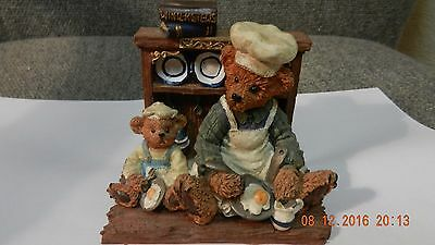 Travelling Teddies - Regency Fine Arts The Cookery Lesson Limited Edition