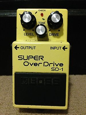 Boss SD-1  Effect Pedal Overdrive