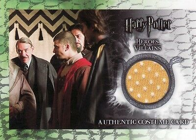 Harry Potter Heroes & Villains Cedric Diggory's C11 Costume Card