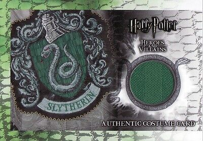 Harry Potter Heroes & Villains Slytherin Quidditch C9 Costume Card