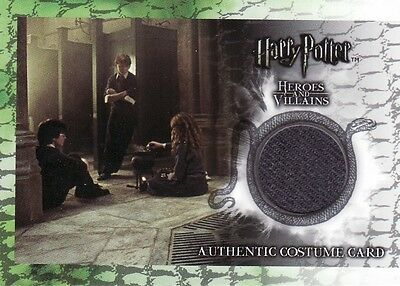 Harry Potter Heroes & Villains Hermione Granger's C7 Costume Card 030/160