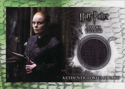Harry Potter Heroes & Villains Alecto Carrow's C6 Costume Card 457/480
