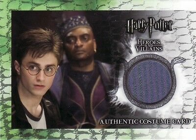 Harry Potter Heroes & Villains Kingsley Shacklebolt's C3 Costume Card 297/460