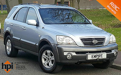 2005 Kia Sorento Crdi Xe Blue - Only 1 Former Keeper - 9 Stamp Service History