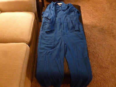FR (Flame Resistant ) Light Weight Coverall Dupont Nomex Size 48 Regular