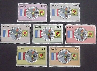 Zaire-1979-African/French Development Conference-Full set-MNH