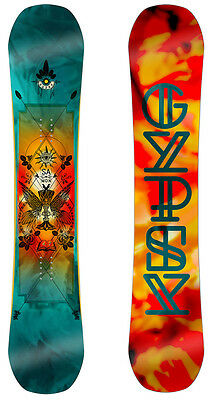 Salomon Womens Snowboards - Gypsy - All-Mountain Freestyle Hybrid Camber - 2017
