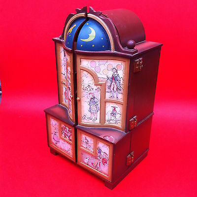 Enesco Gilmore Collection Music Box. Dream Keeper. For spares. Vintage musical.
