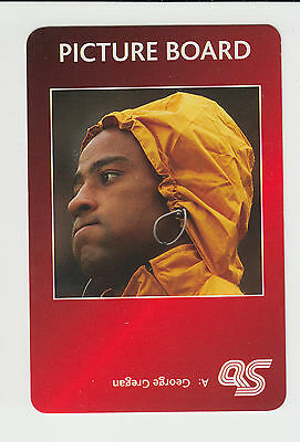 Rugby Union : George Gregan : Australia : UK sports game card - red back