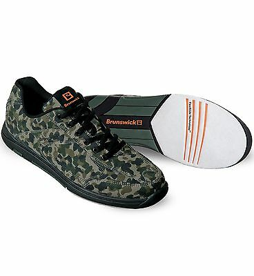 Mens Brunswick Camo Flyer Bowling Shoes Camouflage size 7 1/2