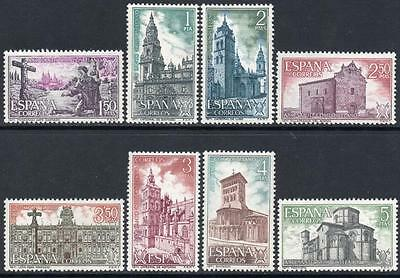SPAIN MNH 1971 SG2121/28 Holy Year of Compostela