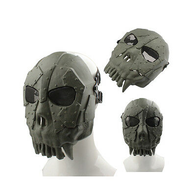 Gotcha Maske / Paintball / Evil Face / Skull Mask  Airsoft Gotcha