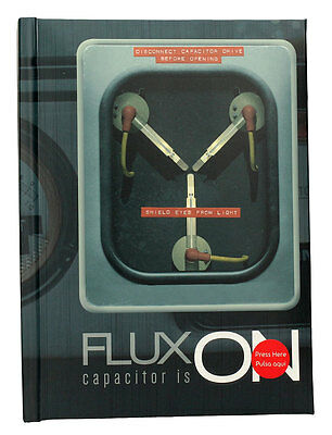 Back to the Future Notebook with Light-Up Flux Capacitor | Official (New)